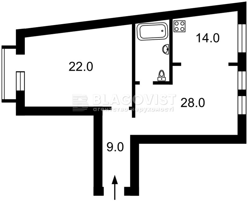 Квартира Z-1383574, Сечевых Стрельцов (Артема), 31, Киев - Фото 2
