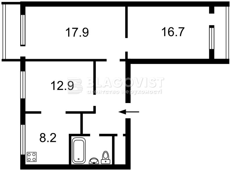 Квартира P-18000, Звіринецька, 61, Київ - Фото 2