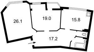 Квартира Митрополита Андрея Шептицкого (Луначарского), 10, Киев, Z-1786012 - Фото2