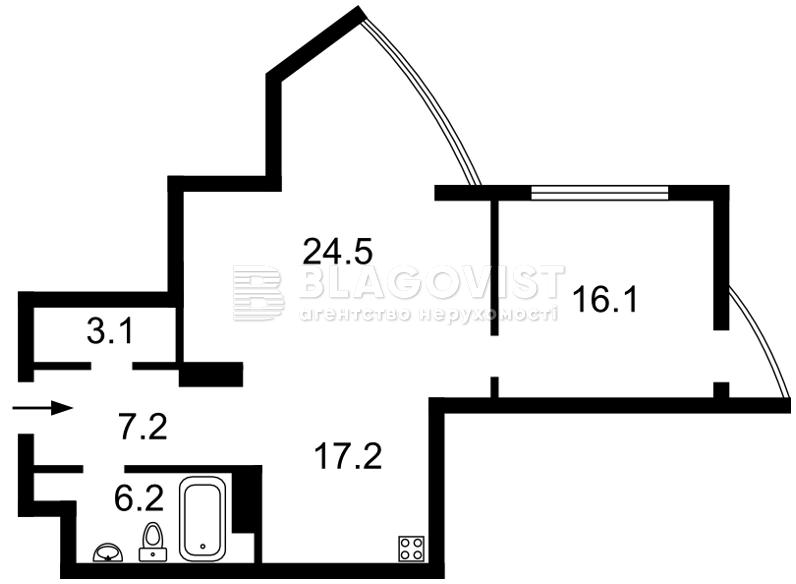 Квартира F-35647, Глубочицкая, 32б, Киев - Фото 8