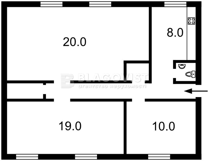Квартира Z-1795382, Хмельницкого Богдана, 86, Киев - Фото 4
