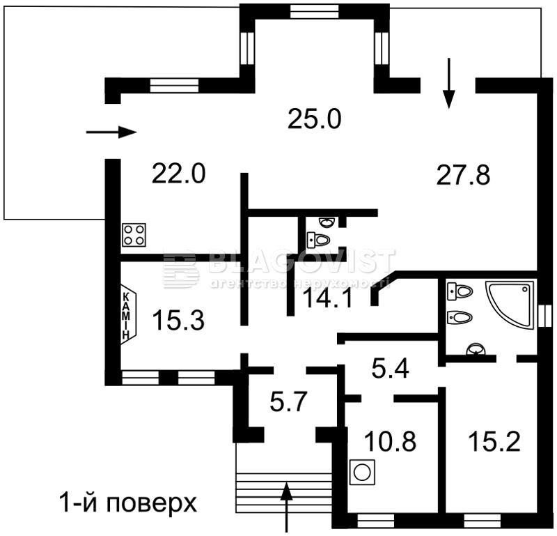 Будинок C-102387, Козин (Конча-Заспа) - Фото 2