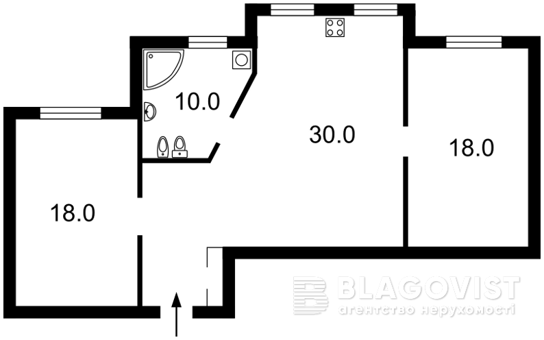 Квартира F-34178, Княжий Затон, 9, Киев - Фото 7