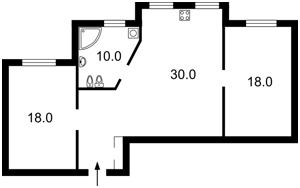 Квартира Княжий Затон, 9, Київ, F-34178 - Фото2