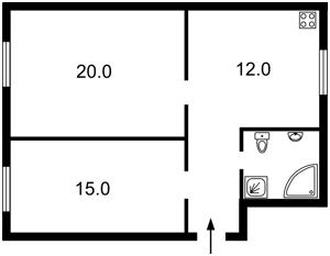 Квартира Институтская, 24/7, Киев, C-102600 - Фото2