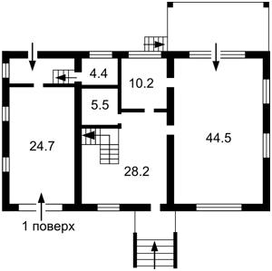 Дом Трояндовая, Гатное, Z-1802277 - Фото2