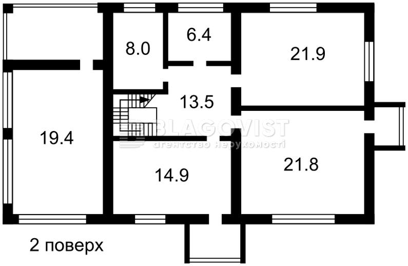 Дом Z-1802277, Трояндовая, Гатное - Фото 3