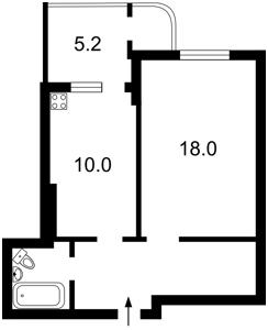 Квартира Кондратюка Юрия, 5, Киев, X-12275 - Фото2