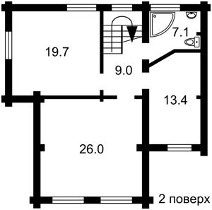 Дом Киевская, Гореничи, Z-114212 - Фото 3