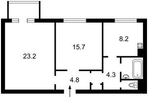 Квартира Сечевых Стрельцов (Артема), 52, Киев, X-13021 - Фото2