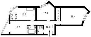 Квартира Героїв Сталінграду просп., 4 корпус 6, Київ, Z-1780154 - Фото 2