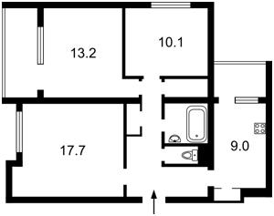 Квартира Антоновича (Горького), 164, Киев, Z-584864 - Фото2