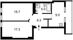 Квартира B-71746, Мазепы Ивана (Январского Восстания), 14, Киев - Фото 5