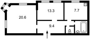 Квартира Бульварно-Кудрявская (Воровского) , 30/13, Киев, Z-1796021 - Фото2