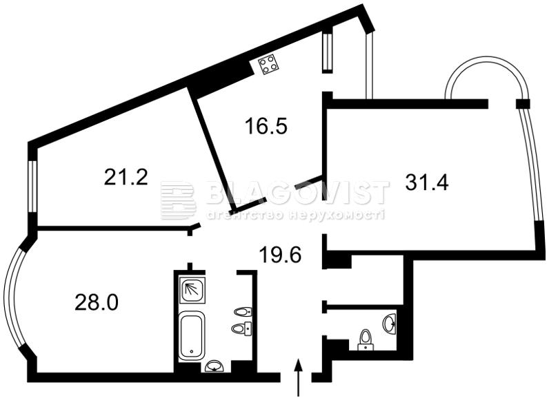 Квартира Z-1824483, Старонаводницкая, 6б, Киев - Фото 6