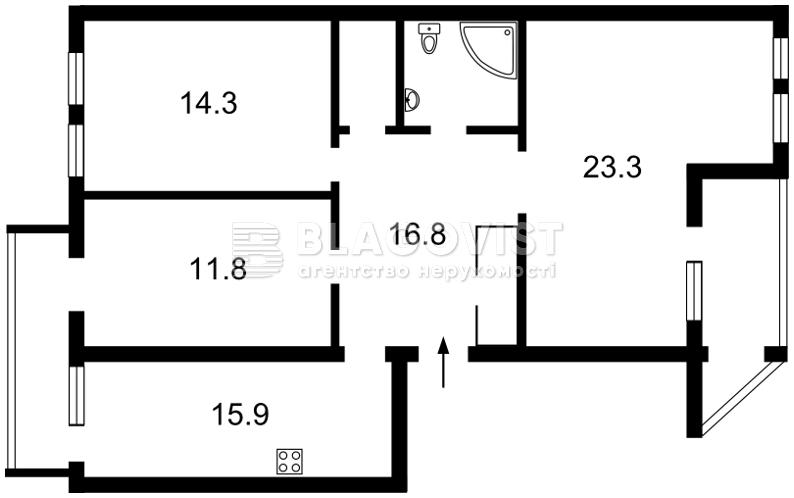 Квартира Z-622828, Туровская, 24, Киев - Фото 7