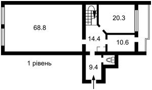 Квартира Павловская, 18, Киев, C-72808 - Фото 2