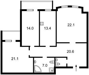 Квартира Z-1761000, Гоголевская, 43, Киев - Фото 5