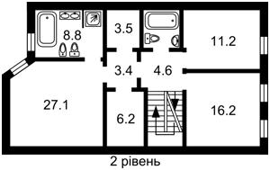 Квартира Большая Васильковская, 46, Киев, F-24642 - Фото 3