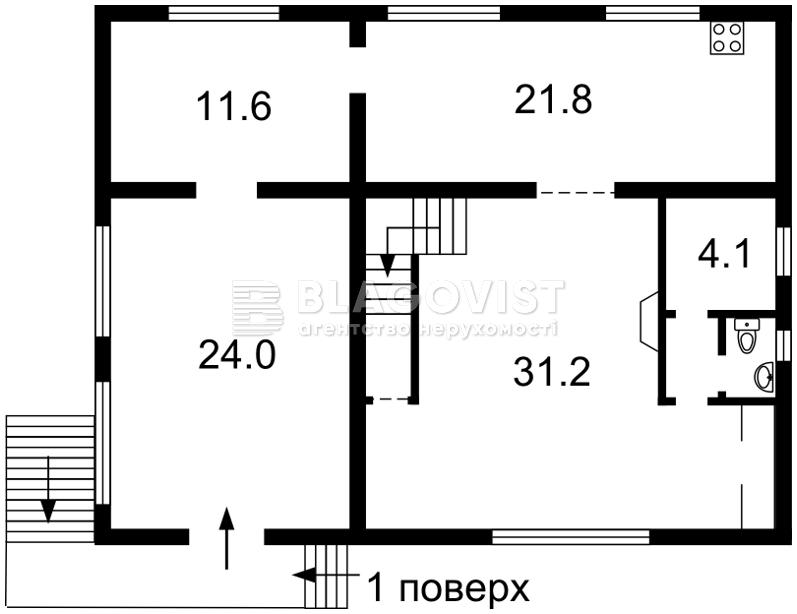 Дом C-102890, Лесная, Подлесье - Фото 3