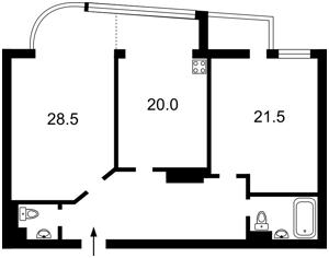 Квартира Московская, 46/2, Киев, Z-1861078 - Фото2