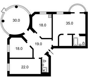 Квартира Златоустовская, 50, Киев, X-22246 - Фото 2
