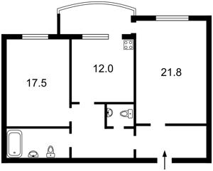 Квартира Героев Сталинграда просп., 10а, Киев, X-35678 - Фото2