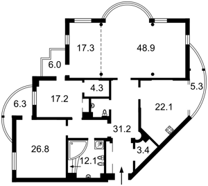 Квартира Старонаводницкая, 13, Киев, E-35213 - Фото 2