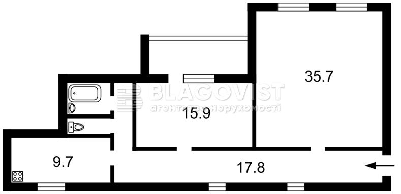 Квартира Z-1788292, Хмельницкого Богдана, 10а, Киев - Фото 5