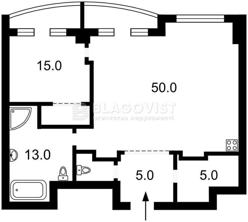 Квартира D-30739, Жилянская, 59, Киев - Фото 5