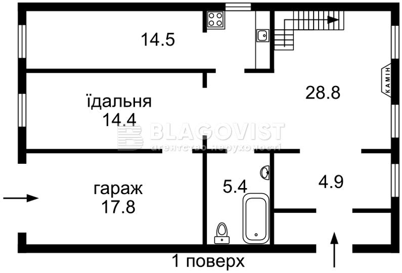 Будинок C-102801, Садова (Осокорки), Київ - Фото 2