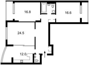 Квартира Касияна Василия, 2/1, Киев, Z-1839917 - Фото2