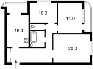 Квартира Победы просп., 107, Киев, X-35355 - Фото2