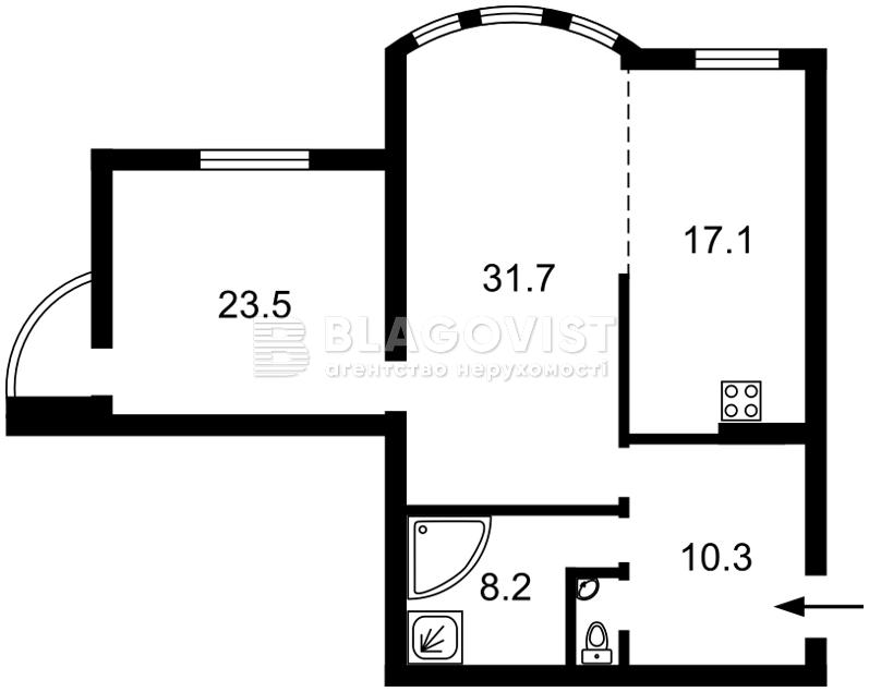 Квартира A-106419, Ереванская, 18а, Киев - Фото 3
