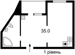 Квартира Z-1755816, Чавдар Елизаветы, 28, Киев - Фото 3