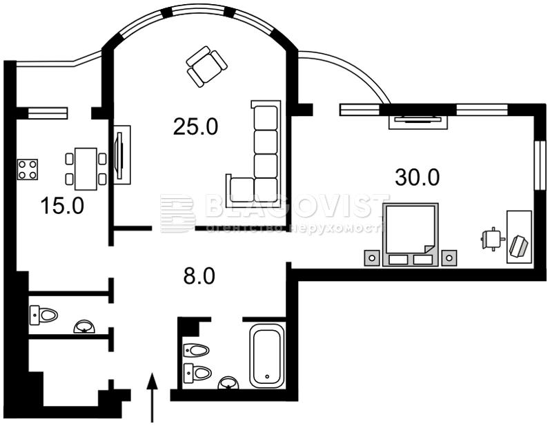 Квартира Z-1750549, Панаса Мирного, 17, Киев - Фото 4