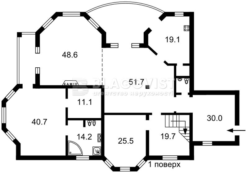 Дом M-30139, Козин (Конча-Заспа) - Фото 1