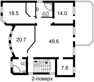 Будинок Краматорський пров., Київ, F-36679 - Фото 3