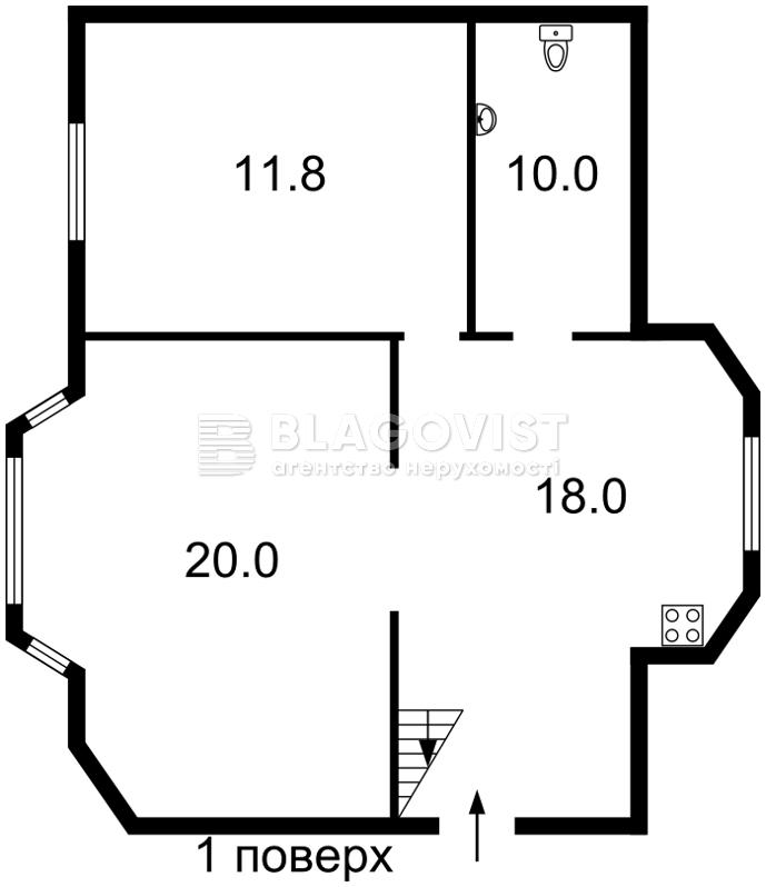 Дом Z-1650961, Гатное - Фото 3
