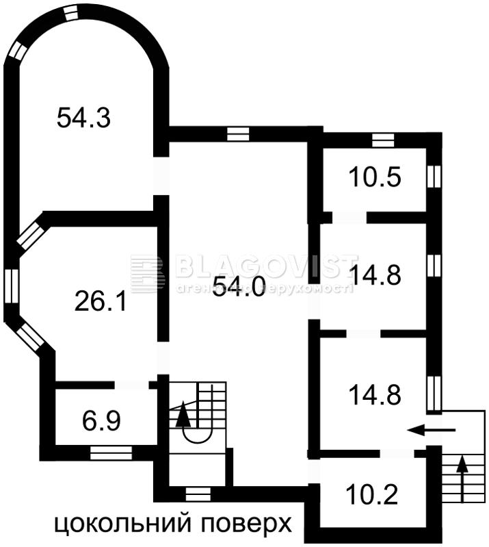 Дом C-103266, Лесная, Лесники (Киево-Святошинский) - Фото 4