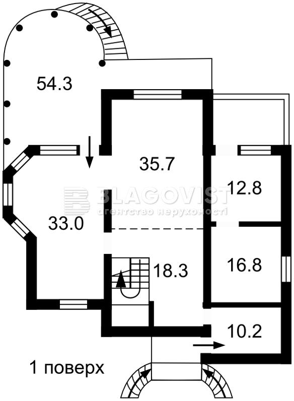 Дом C-103266, Лесная, Лесники (Киево-Святошинский) - Фото 5