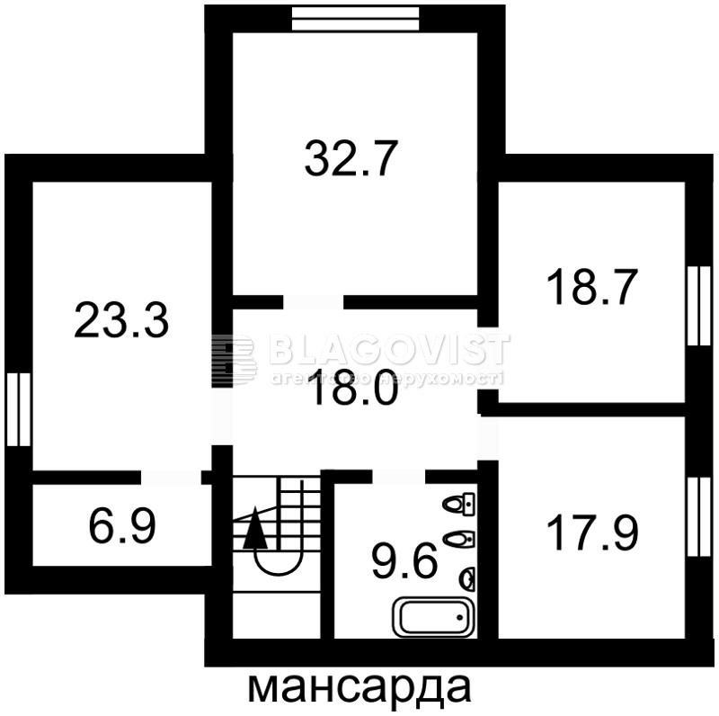 Дом C-103266, Лесная, Лесники (Киево-Святошинский) - Фото 6