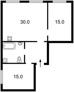Квартира Большая Житомирская, 16, Киев, X-34423 - Фото2