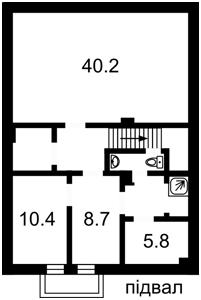 Дом Козин (Конча-Заспа), A-105589 - Фото1