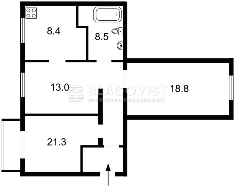 Квартира D-31354, Шевченка Т.бул., 6, Київ - Фото 4