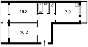 Квартира Русановский бульв., 9, Киев, Z-1327859 - Фото2