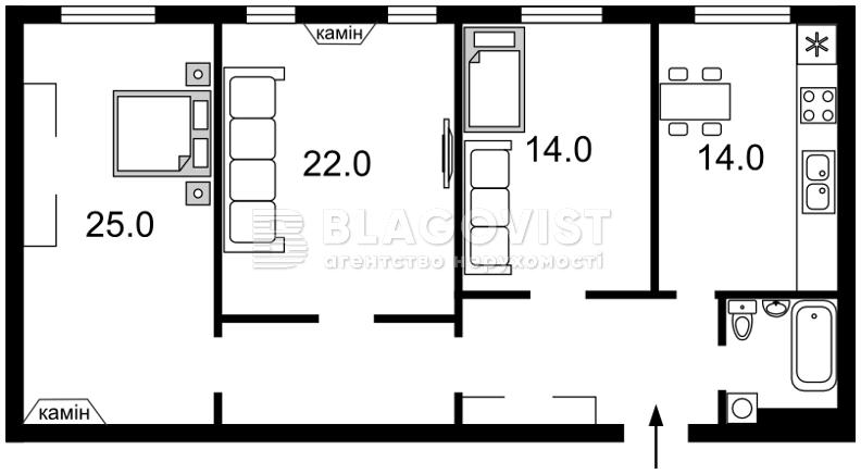 Квартира C-87989, Хрещатик, 15, Київ - Фото 8