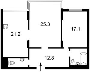 Квартира Днепровская наб., 14б, Киев, X-29486 - Фото2