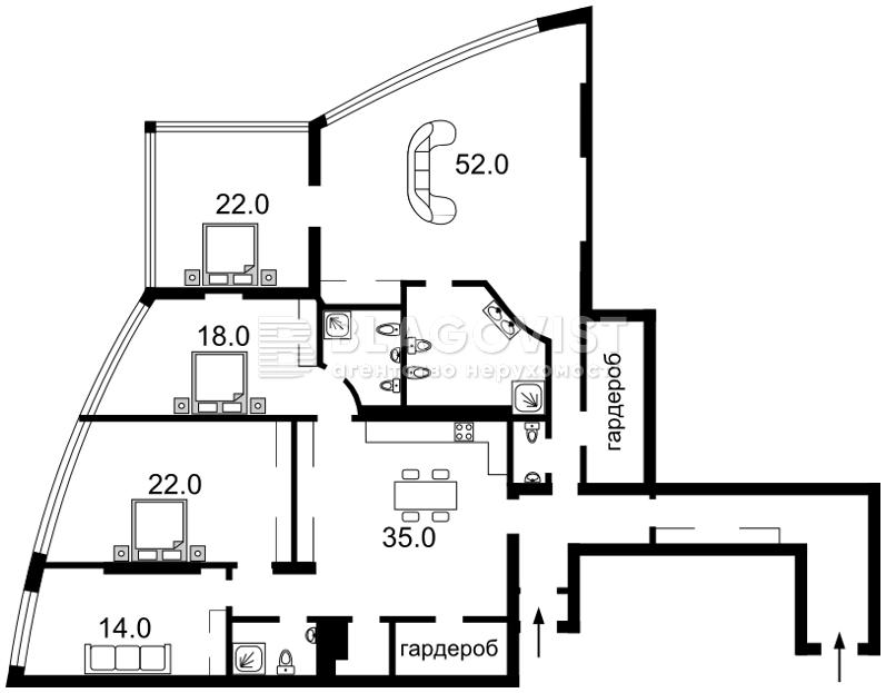 Квартира C-103151, Панаса Мирного, 28а, Київ - Фото 6