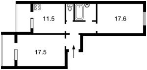 Квартира Білицька, 18, Київ, R-1531 - Фото2